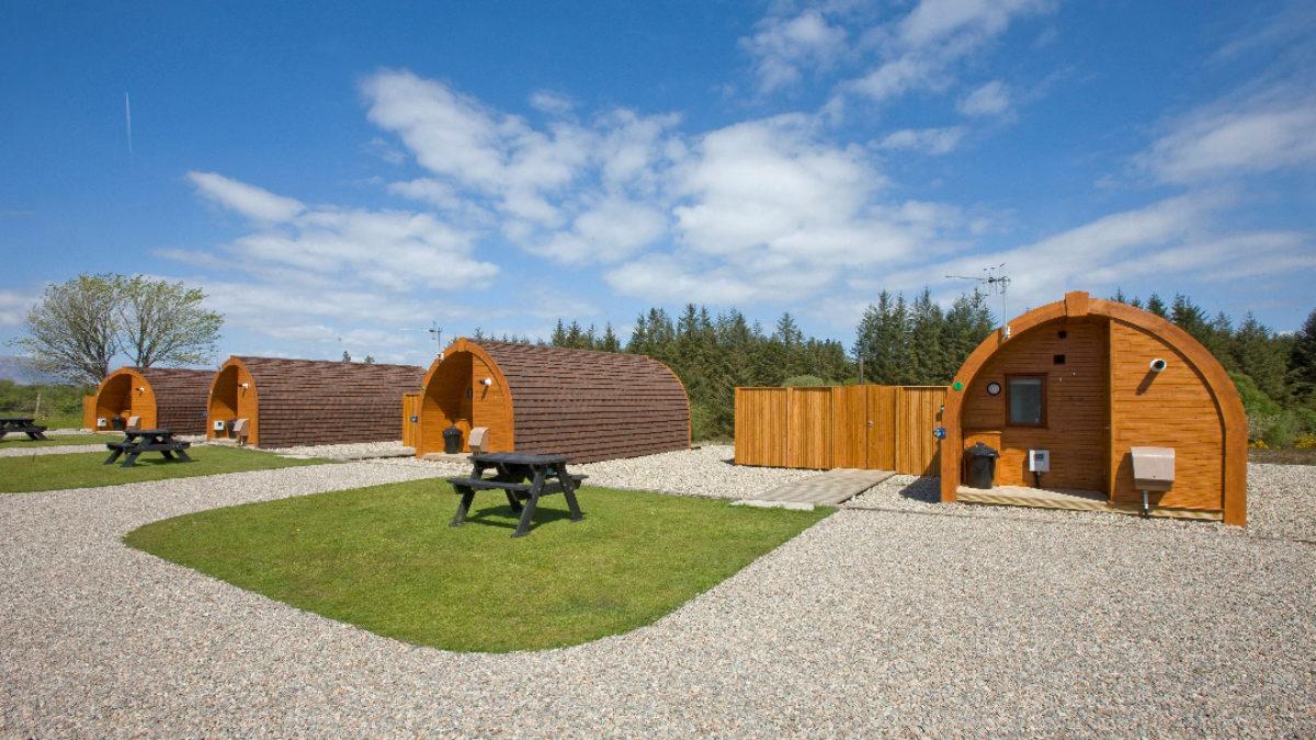 Glamping Pods - Benderloch by Oban - Argyll - Scotland