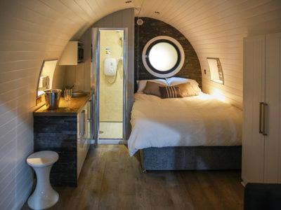 The Glencoe Glamping Pod Bed